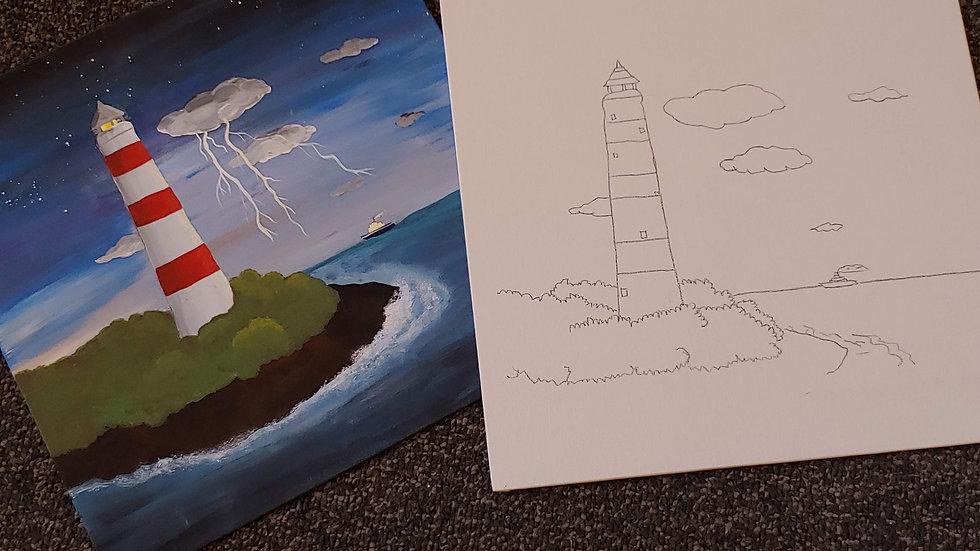 Lighthouse Canvas