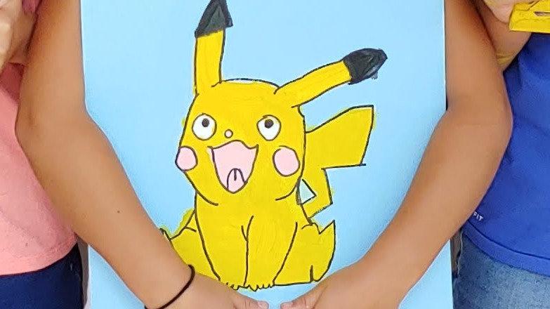 Pikachu Pokemon Canvas