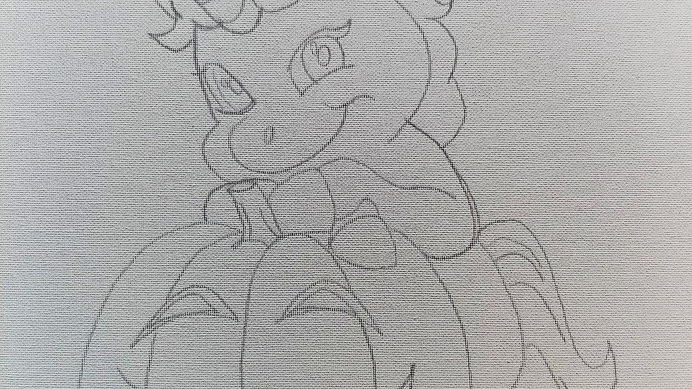 Unicorn with Pumpkin