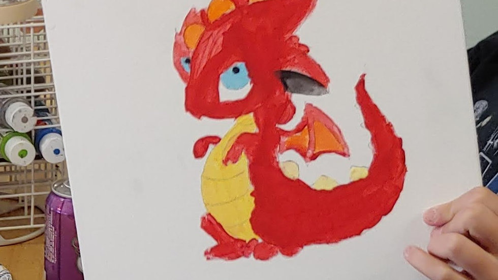 Dragon C Canvas