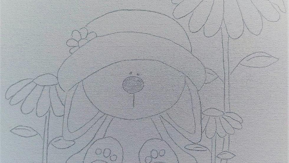 Susie Bunny Canvas