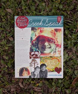 Creek Speak Newsletter