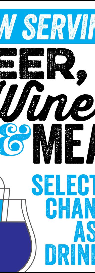 Beer, Wine & Mead | Poster