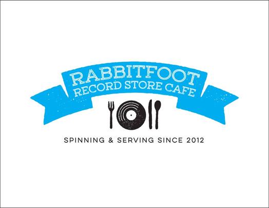 Rabbitfoot Record Store Café Logo