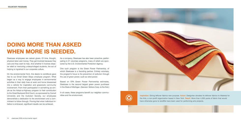 Steelcase Environmental Brochure