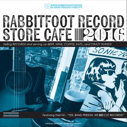 Rabbitfoot Record Store Café