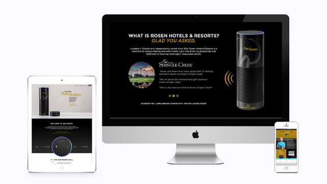 Ask Rosen Alexa skill with rebranded and repackaged devices.