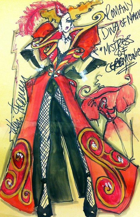 MC Coat Sketch