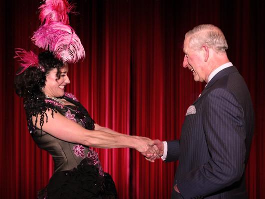 A Diva meets a Prince