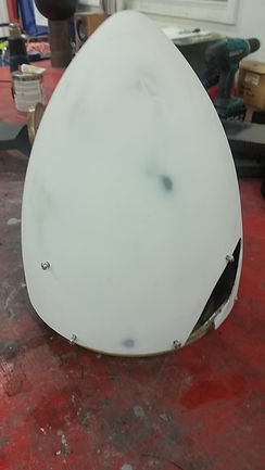 Prop Spinner Repair