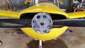 Prop Spinner Installation