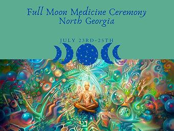 Full Moon Medicine Ceremony Georgia Moun