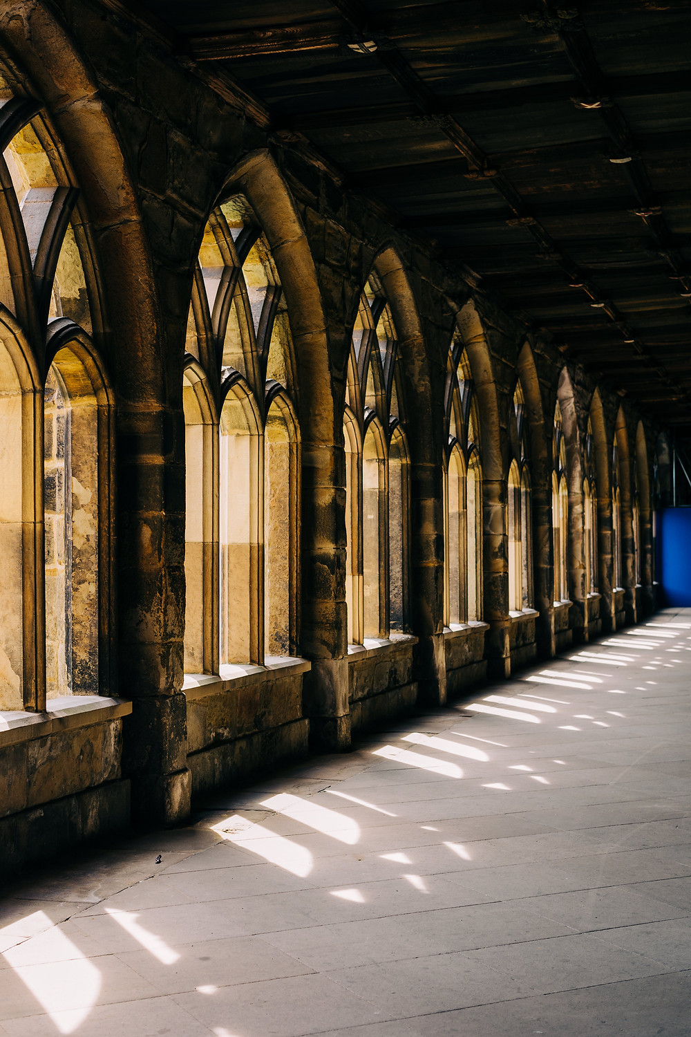 Durham cathedral beautiful light couples engagement shoot setting