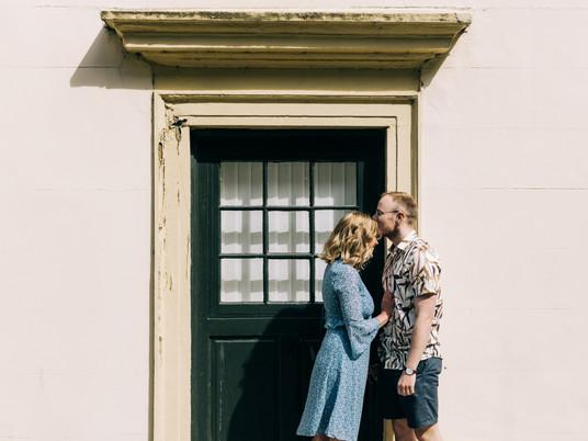 Alicia and Mark - A Sunny Pre-Wedding Shoot in Durham city centre