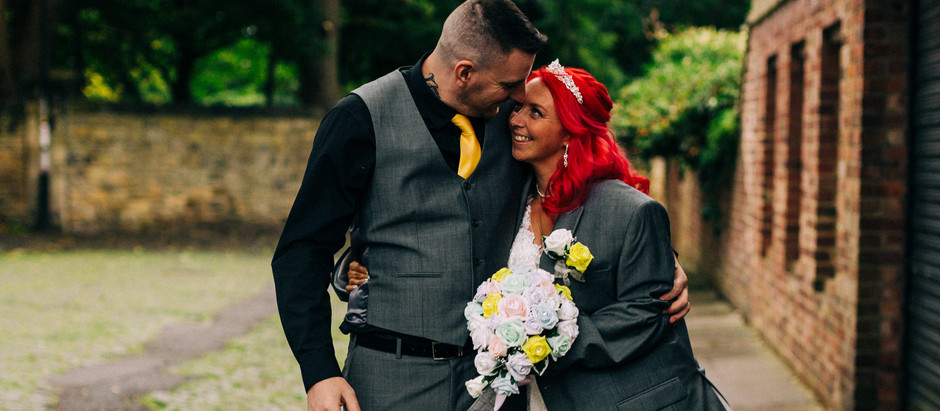 Tanya and David - a colourful city wedding in the heart of jesmond