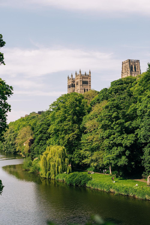 Durham cathedral University engagement shoot