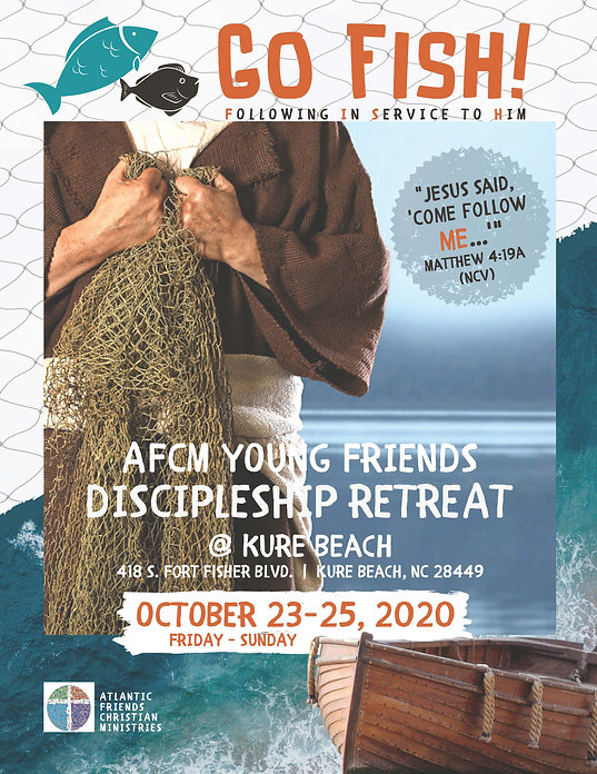 GO FISH AFCM YF Disciple Retreat 2020 (F