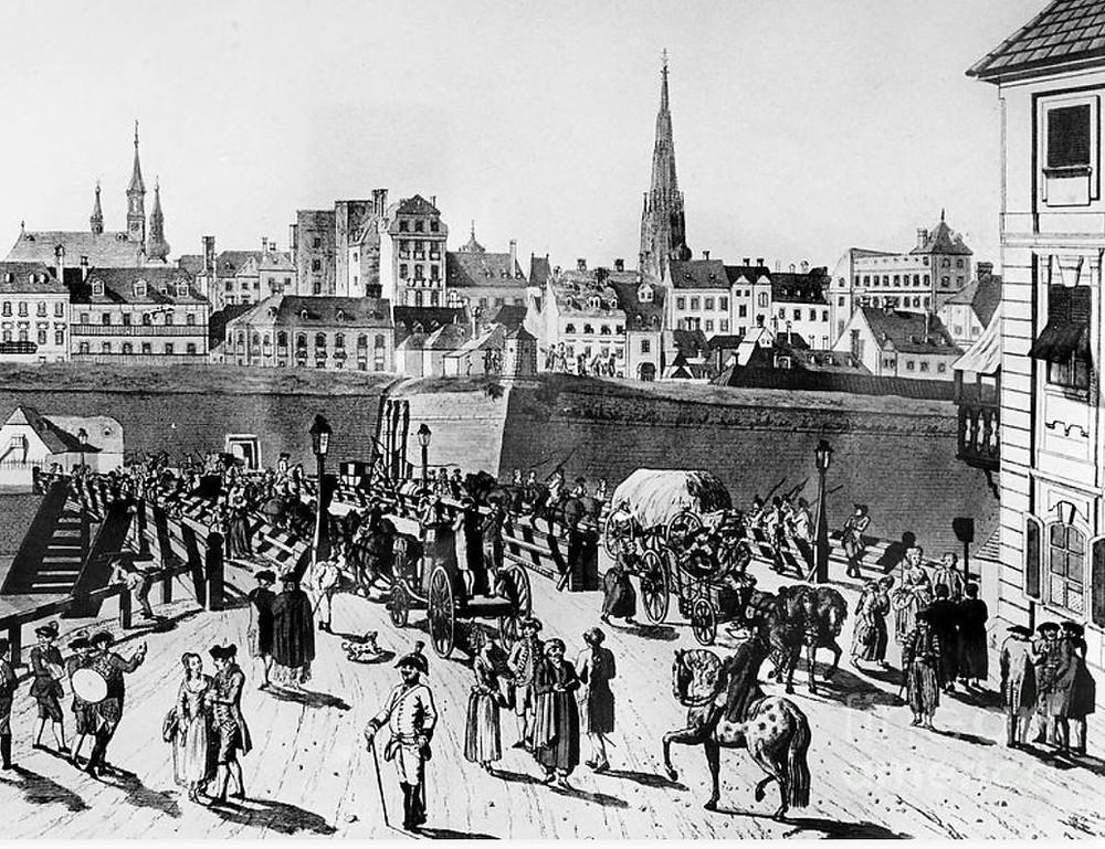 image of 18th century Vienna
