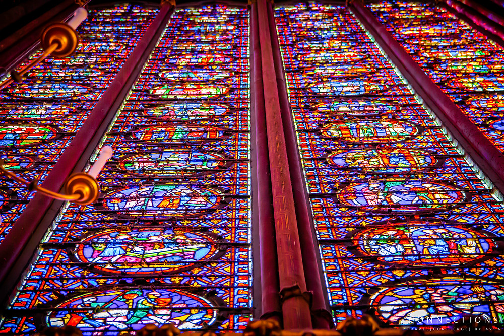 Sainte-Chapelle Stained Glass Windows