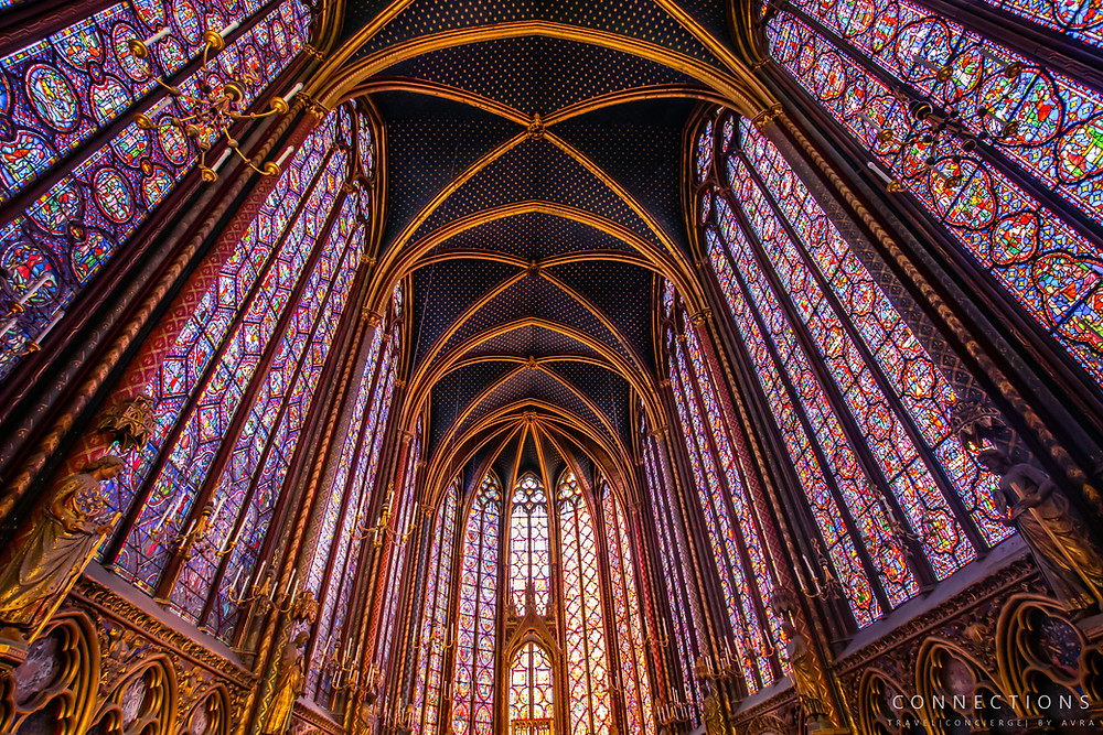 Sainte-Chapelle Interior Ceiling