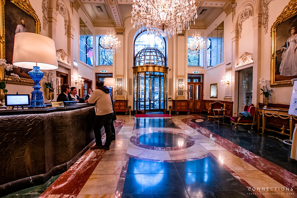 Lobby of Hotel Imperial