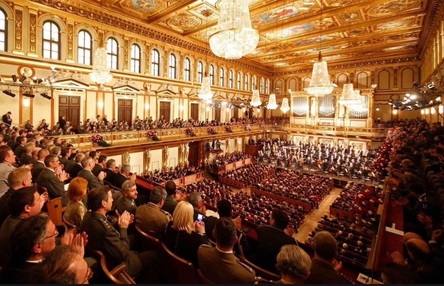 The Great Golden Hall at the Musikverein