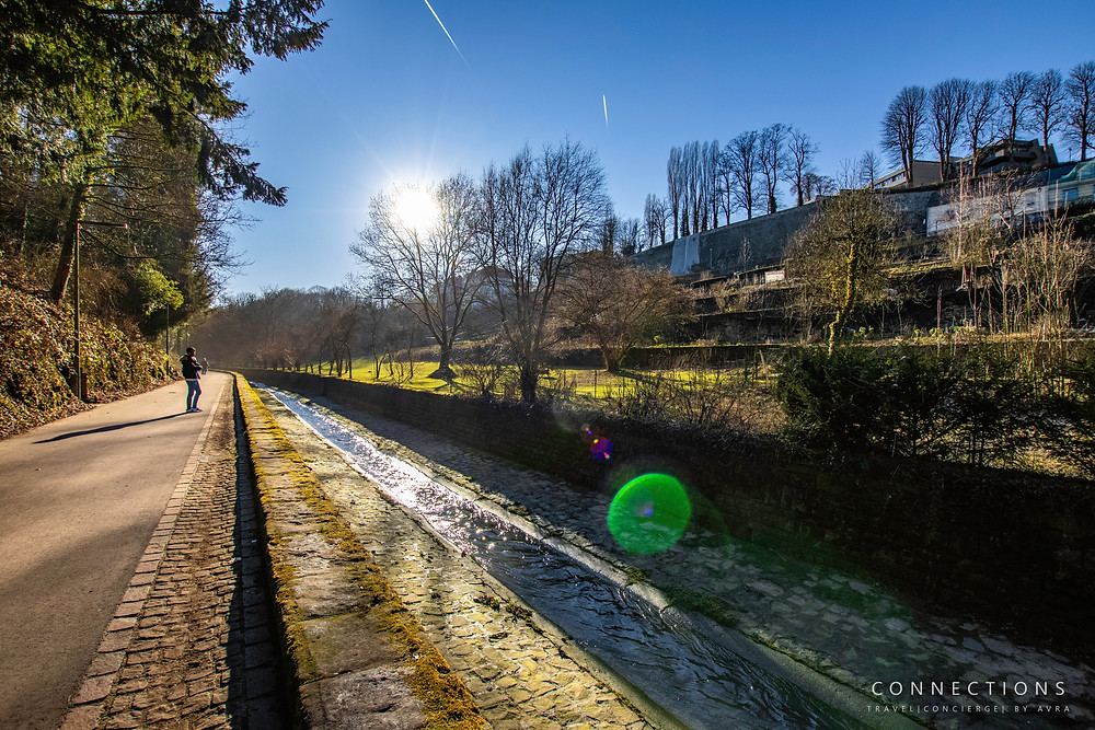 Picture of the Valley in Luxembourg City