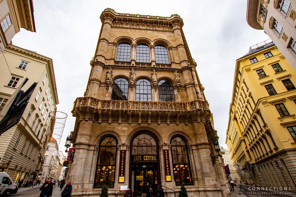 Cafe Central in Vienna Austria