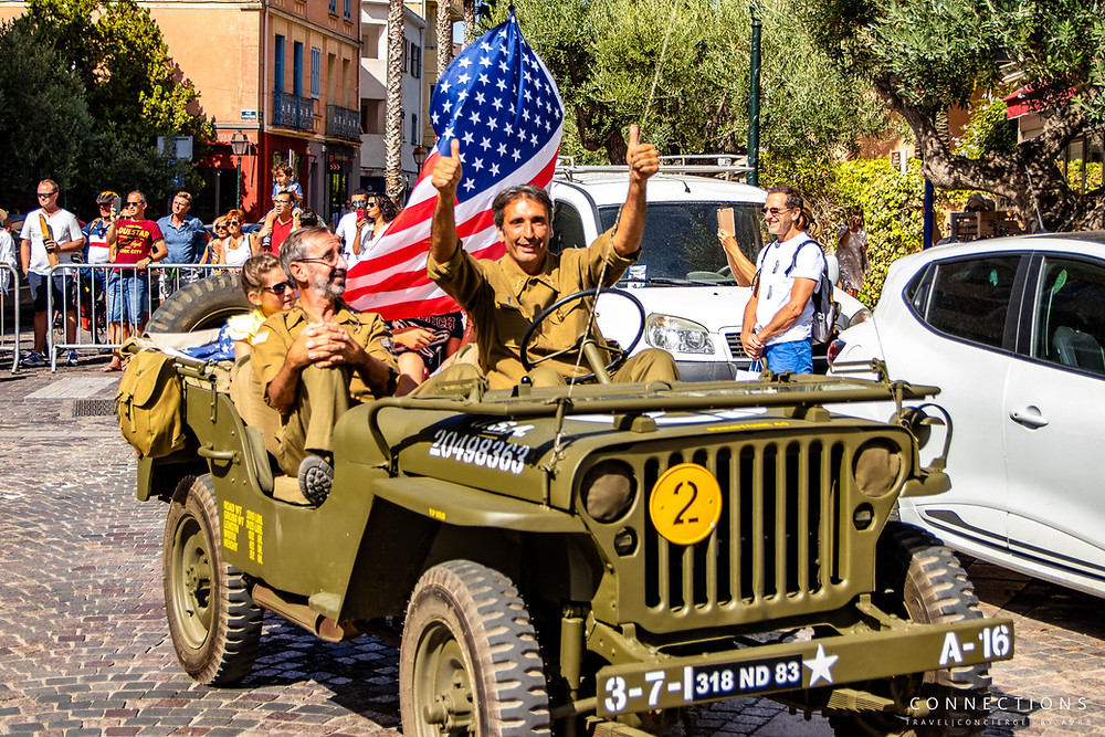 August 15h, 2019 celebration parade in Provence