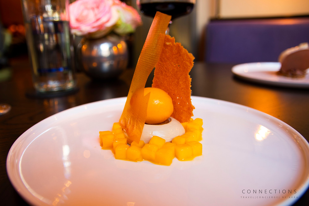 Roux at the Landau dessert