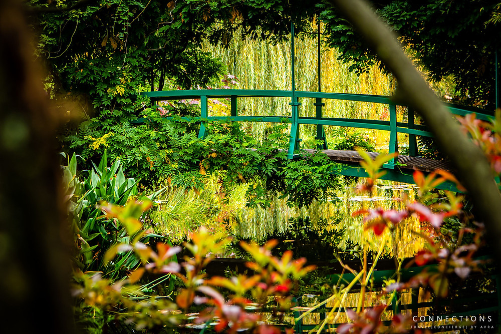 Image of the Bridge at Monet's garden