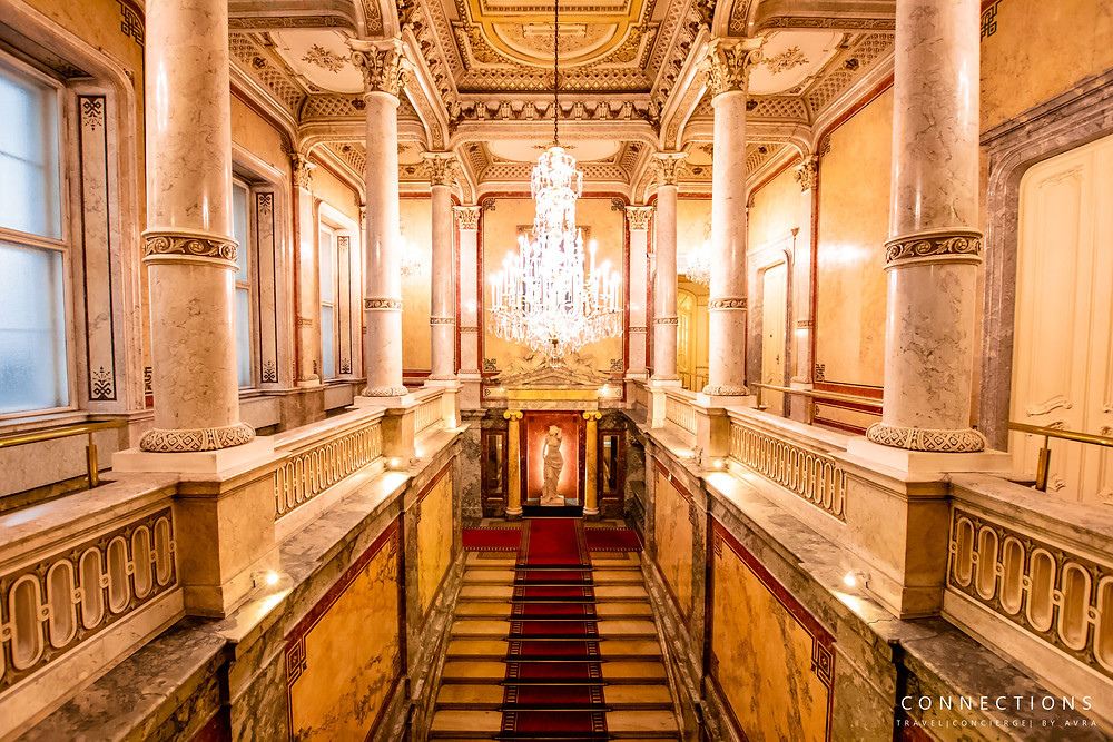 Hotel Imperial Royal Staircase
