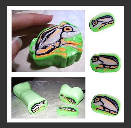 Reed Frog Millefiori