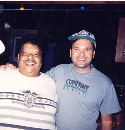 Ricardo Leão e Tim Maia