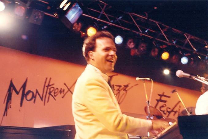 Ricardo Leão no Festival de Montreux (Suíça) / 1992