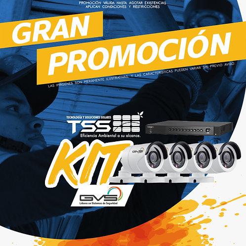 Kit GVS Circuito Cerrado de Televisión.