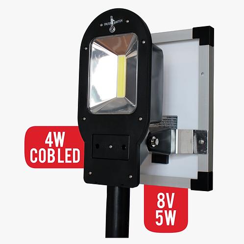 Lampara Solar 4W Cob Led Para Exteriores Panel Solar 5w (7130)