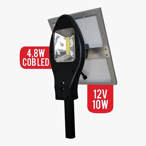 Lampara Solar 4,8W Cob Led Para Exteriores Panel Solar 10w (7160)