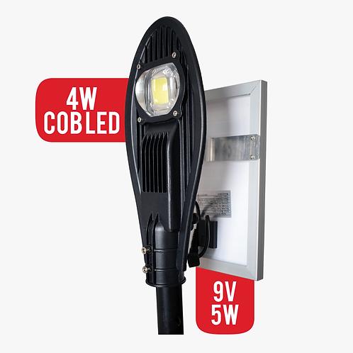 Lampara Solar 4W Cob Led Para Exteriores Panel Solar 5w (7159)