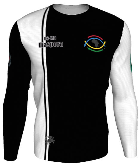 Men's #2 Uniform Black/White