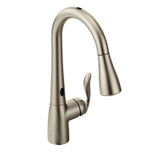 Moen Arbor™ 2 gpm Single Lever Handle Kitchen Sink Faucet High Arc Pull-Down Spo