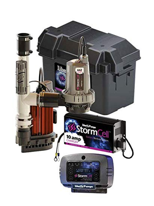 PC Series STORMCELL COMBO PUMP W/257 10A CHARGER