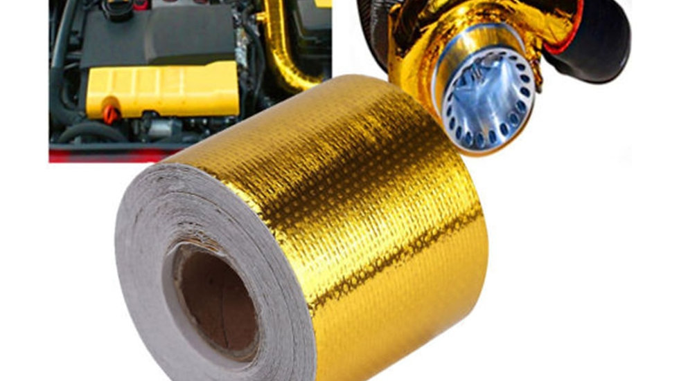 Car Automotive Motorcycle Gold Thermal Insulation Protection Tape