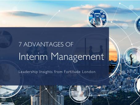 7 Advantages of Interim Management