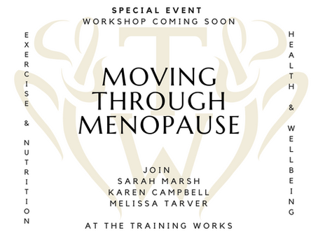 Workshop: Moving through Menopause