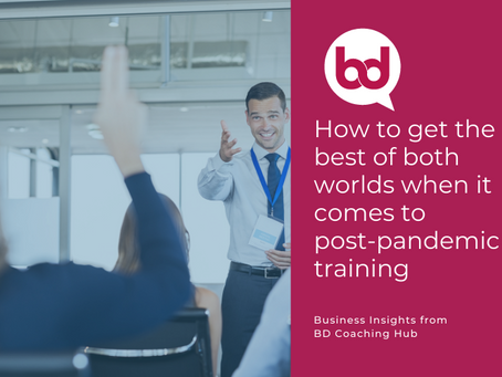 How to Get the Best of Both Worlds When it Comes to Post-Pandemic Training