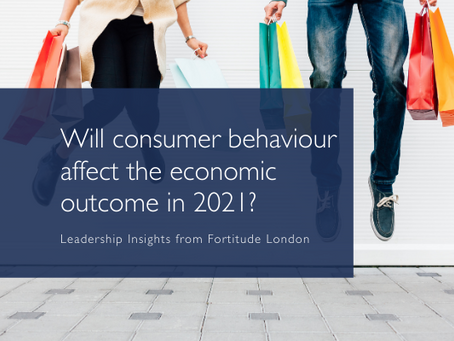 How will consumer behaviour affect the economic outcome in 2021?