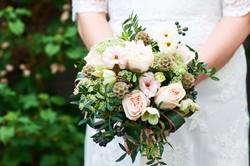 Hand Tie Posy Wedding Bouquet