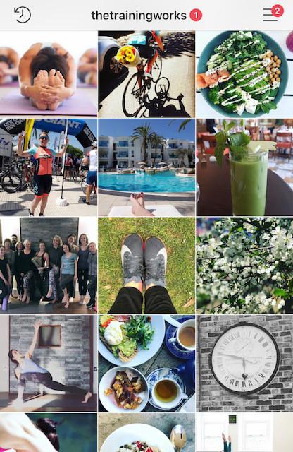 The Training Works Instagram