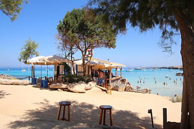 Formentera Strand-Tipp Cala Saona